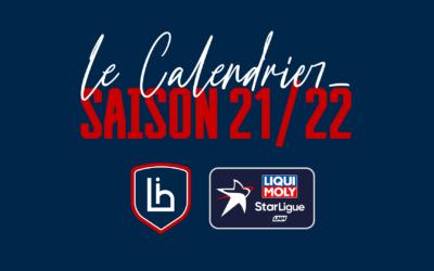 Calendrier Liqui Moly Starligue 21/22 : les dates à retenir !