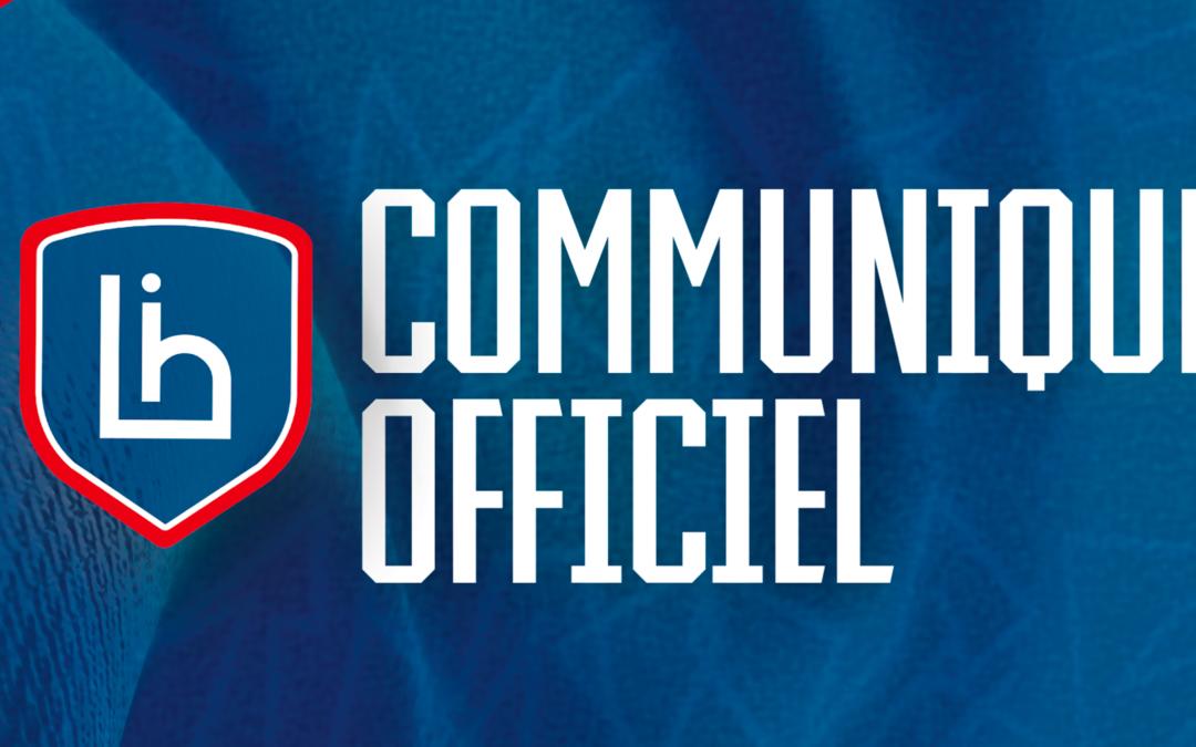 Communiqué officiel : Changement à la tête du Limoges Handball
